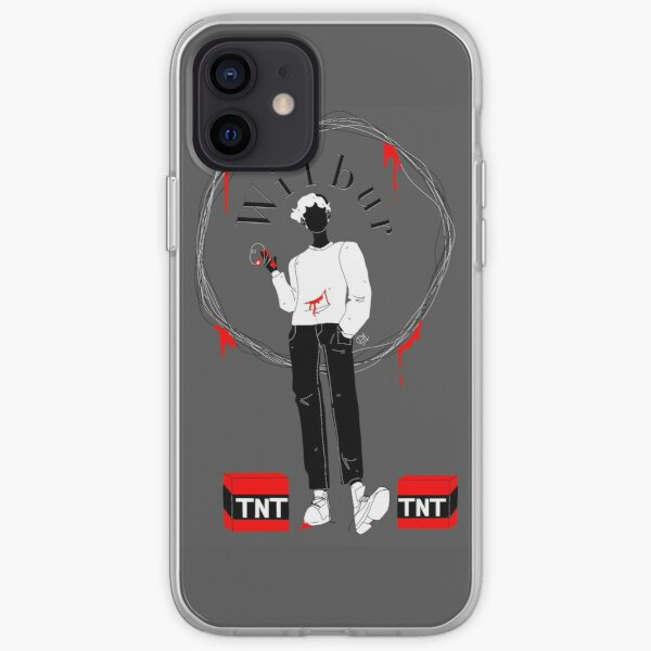 Wilbur soot silhouette  iPhone Soft Case RB2605 product Offical Wilbur Soot Merch