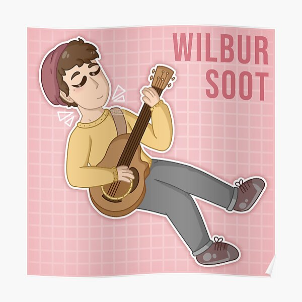 Wilbur Soot with guitar Poster RB2605 product Offical Wilbur Soot Merch
