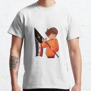 Wilbur Soot L'manburg Fanart Classic T-Shirt RB2605 product Offical Wilbur Soot Merch