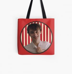Wilbur Soot in a circle | Dream SMP | Your new boyfriend All Over Print Tote Bag RB2605 product Offical Wilbur Soot Merch