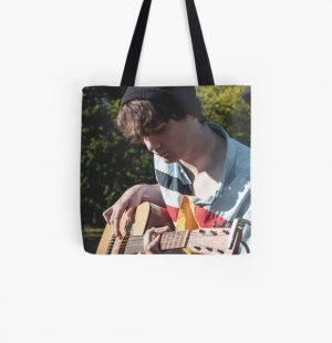Wilbur Soot with Guitar All Over Print Tote Bag RB2605 product Offical Wilbur Soot Merch