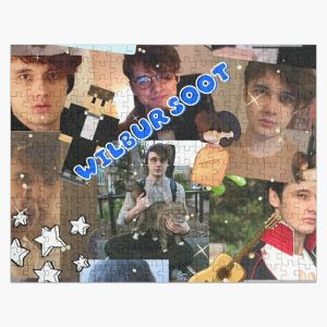 Wilbur Soot collage Jigsaw Puzzle RB2605 product Offical Wilbur Soot Merch