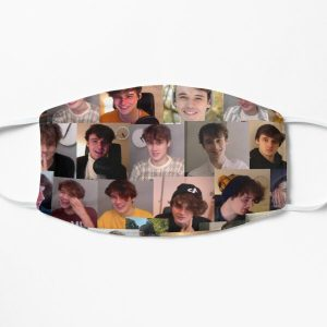 Wilbur Soot collage 2 Flat Mask RB2605 product Offical Wilbur Soot Merch