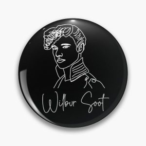 Wilbur Soot Pin RB2605 product Offical Wilbur Soot Merch