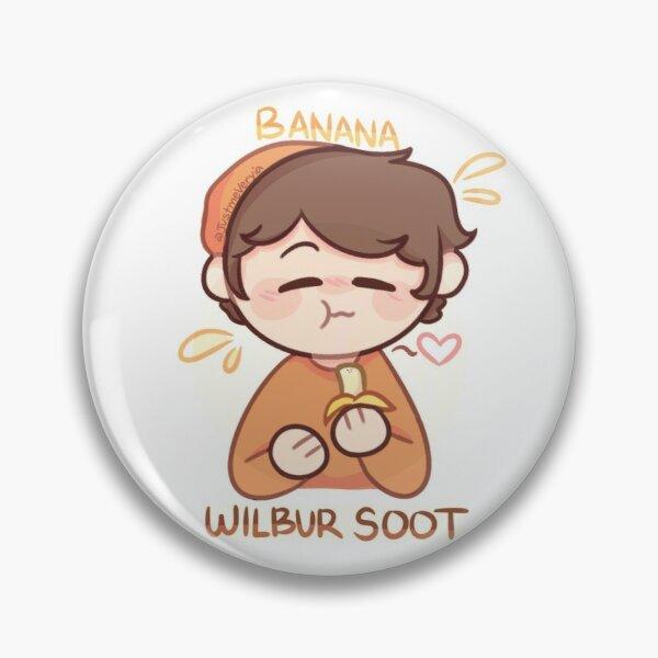 Wilbur Soot (mcyt+food) Pin RB2605 product Offical Wilbur Soot Merch