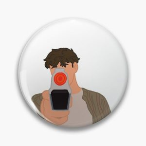 Wilbur Soot stole Tommy's vlog gun Pin RB2605 product Offical Wilbur Soot Merch